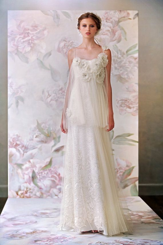 Sample Sale 50 off Romantic Wedding Gown Boho by MariStyleCouture, $410.00
