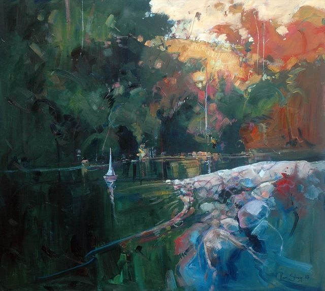 Ken Strong, 'Picnic at Wingham,' 2014, Wentworth Galleries