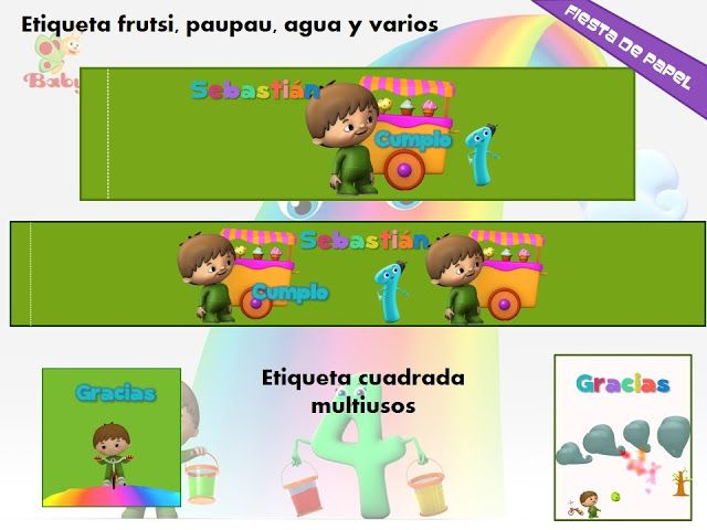 Ki-076 Kit Imprimible Editable Charlie Y Los Números Baby Tv (Cumpleaños) a MXN 65 en PrecioLandia México (76nohg)