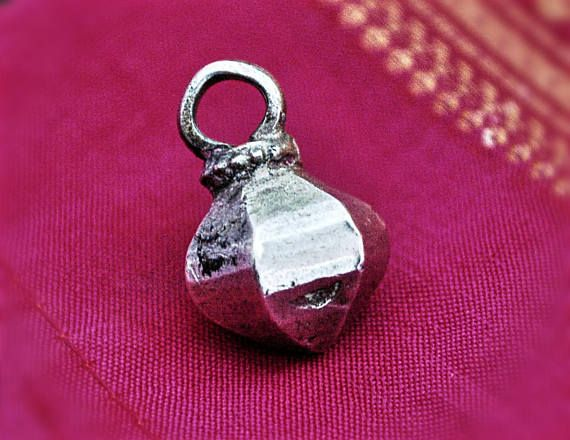 Old Rajasthan Silver Amulet  BY COSMIC NORBU