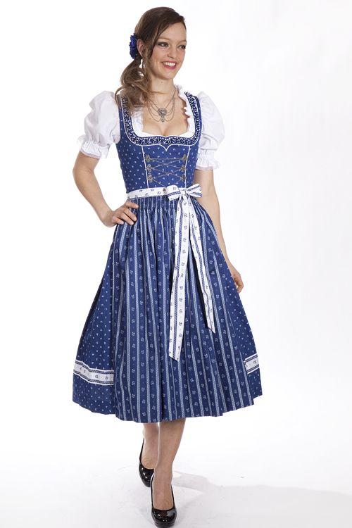 #Dindl lang Tessa blau