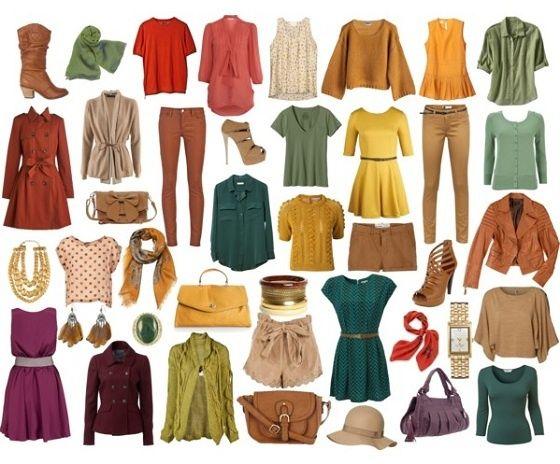 Colours suitable for the beauty type (autumn) - Kolorystyka odpowiednia dla danego typu urody (jesień), cz. II