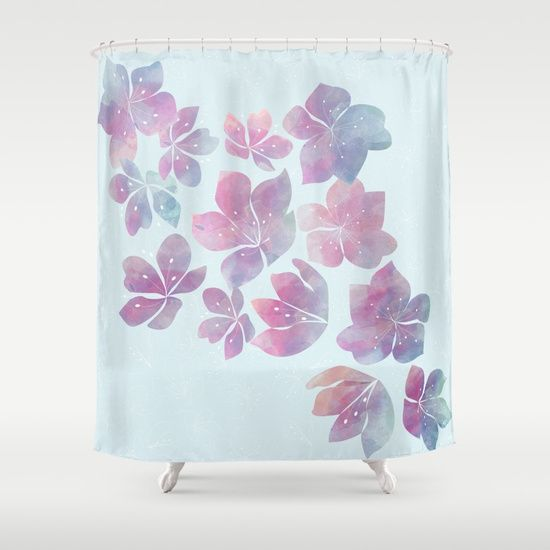 Flying fantasy Shower Curtain