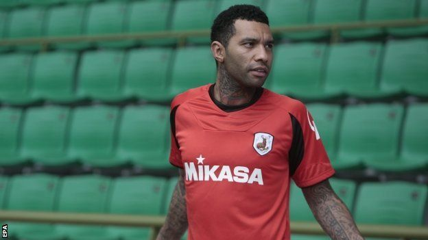 Jermaine Pennant signs for Singapore club Tampines Rovers