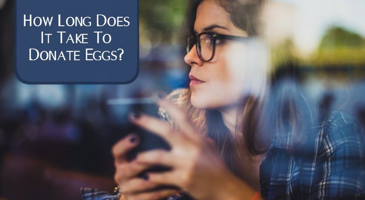 The egg donation process takes time, but how much? We'll explain how much time it takes to become an egg donor and donate eggs in our egg donation program.