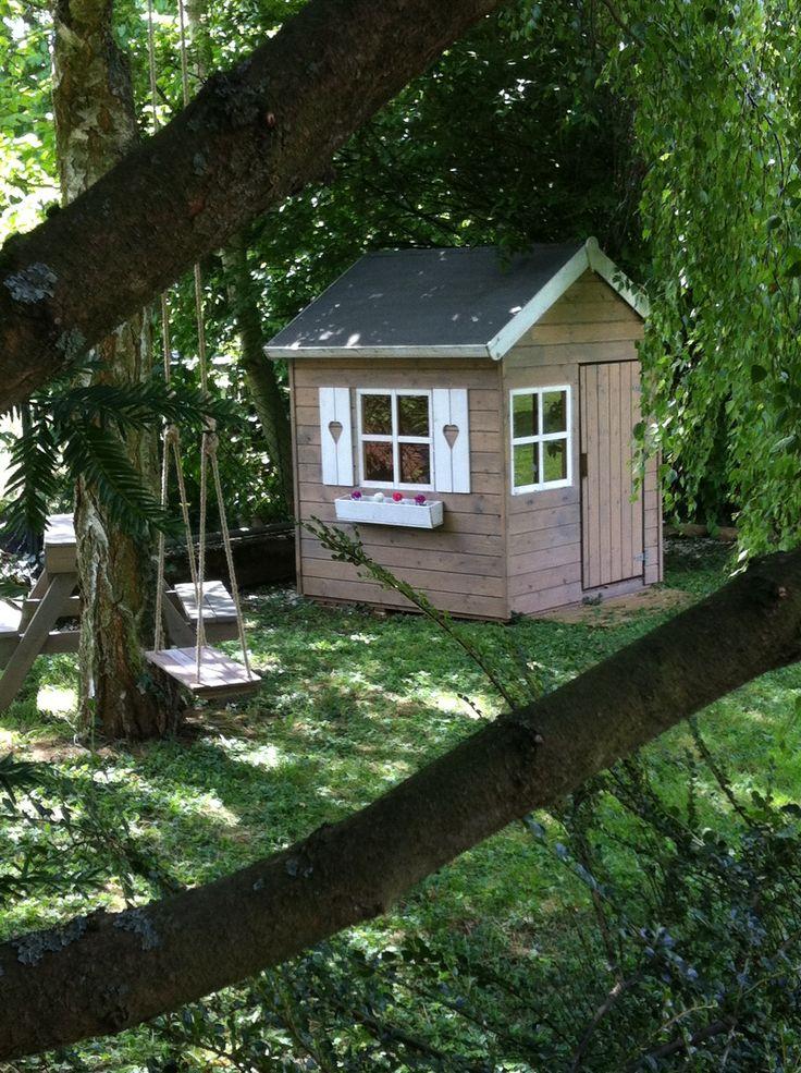 the 25 best cabane jardin enfant ideas on pinterest. Black Bedroom Furniture Sets. Home Design Ideas