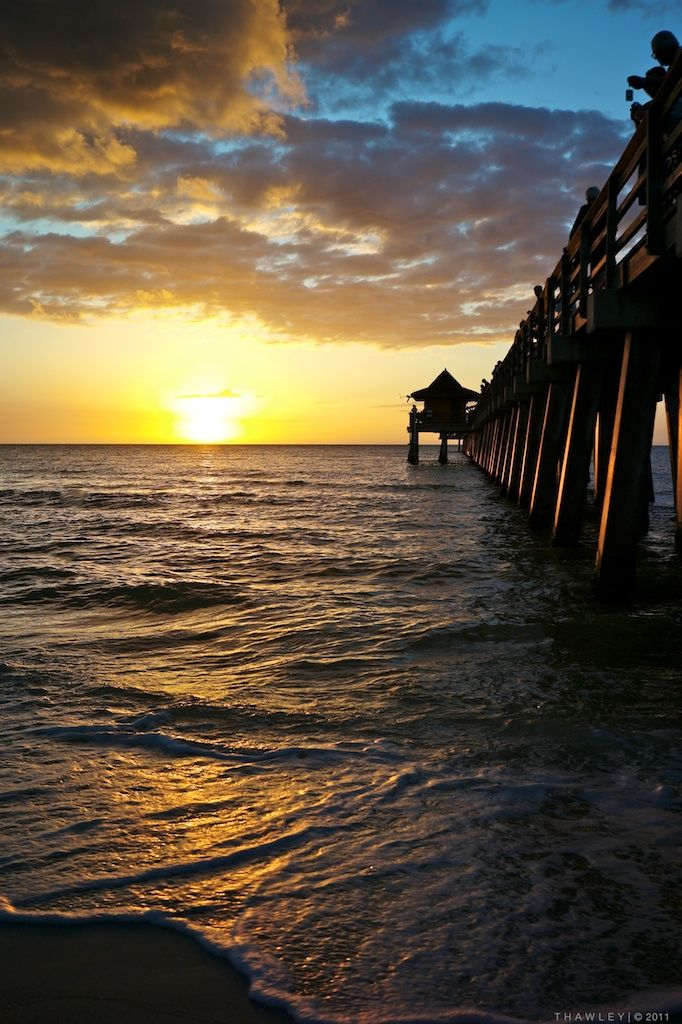 Naples, FL.  nice shot of the pier. We can't afford to get married here, but maybe get second day shots here...