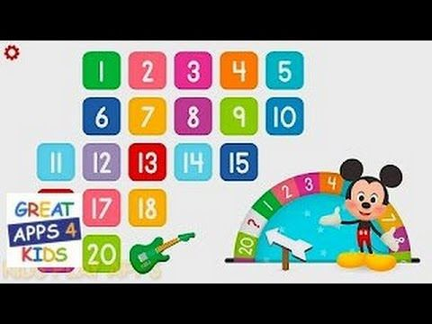 Disney Buddies: 123 | Educational Counting App for Kids