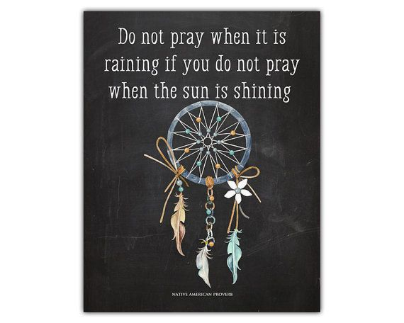 Native art  prayer print  native american decor