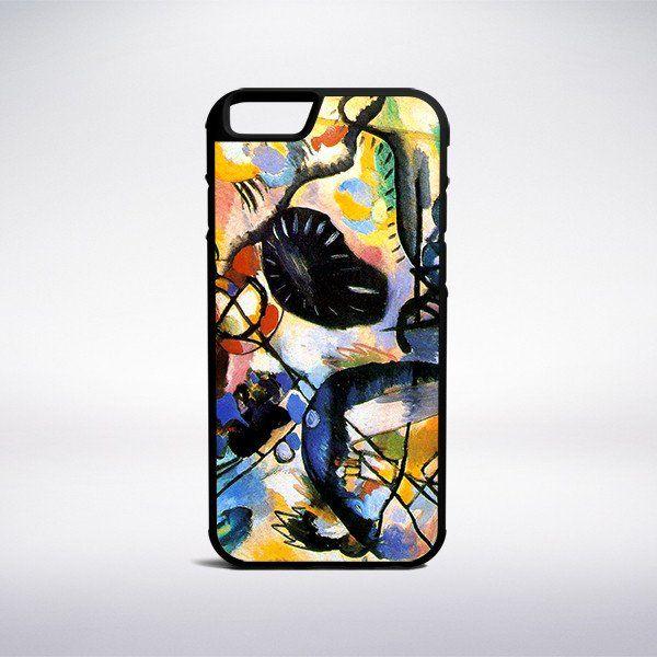Wassily Kandinsky - Black Spot Phone Case – Muse Phone Cases