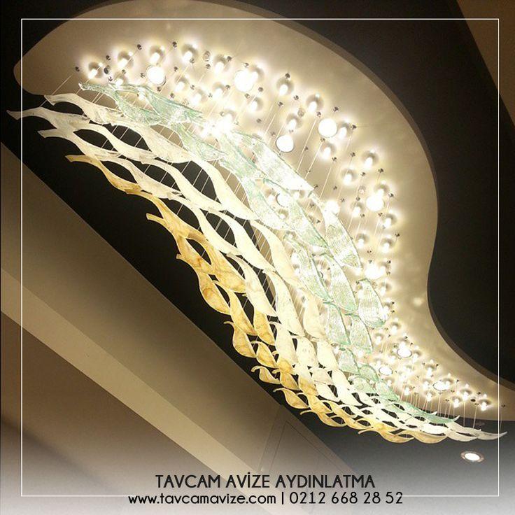 Taşların ve renklerin uyumuyla özel tasarım avizeler www.tavcamavize.com #tavcam #avize #camsanatı #özeltasarımavizeler #aydınlatma