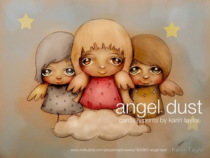 Angel Dust prints and cards by Karin Taylor http://www.redbubble.com/people/karin/works/7843857-angel-dust FB www.facebook.com/karintaylor.online Web www.redbubble.com/people/karin