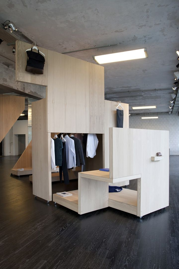 COS Pop up shop for Salone del Mobile, Milan store design