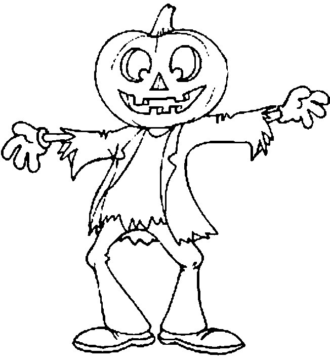halloween printable free coloring pages