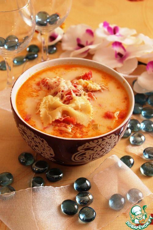 Итальянский куриный суп - кулинарный рецепт