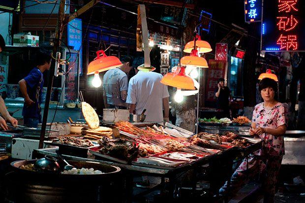 Chinese street BBQ