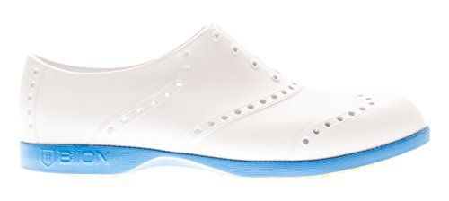 Womens Golf Shoes Fashion | Biion Unisex Brights Mens 6 Womens 8 White  Blue Golf Shoes >>> Read more reviews of the product by visiting the link on the image. Note:It is Affiliate Link to Amazon.