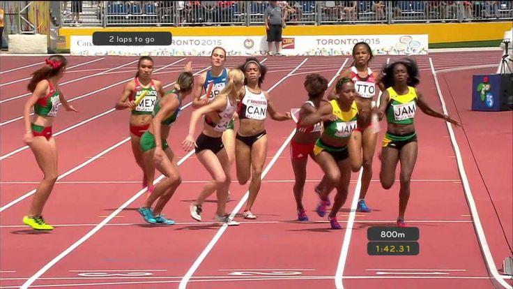 USA / Canada Women`s 4X400m relay Semi final 2 (entire) - Track & Field ...