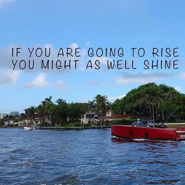 If you are going to rise, you might as well shine.    Buy Sell and Trade your new and used products with Yachting Trader App for FREE!    #yacht #yachting #yachtlife #sailing #sail #boat #yachtworld #sailboat #boatlife #yachtinglife #yachtinglifestyle #luxury #luxurylifestyle #refit #yachtforsale #sale #yachtstore #onlinestore #yachtproject #yachtspotting #preownedyachts #fishing #marine #buyused