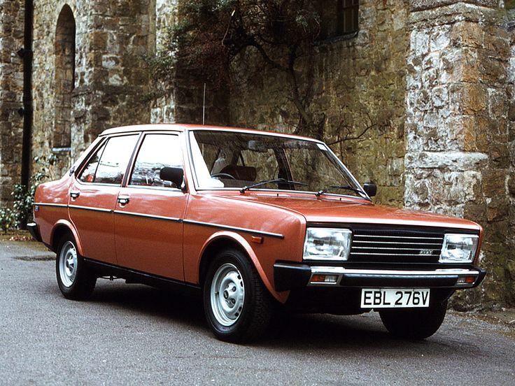 1978–81 Fiat 131 Mirafiori UK-spec