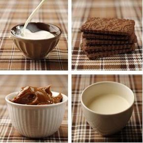 Chocotorta perfecta-ingredientes  - 3 paquetes grandes de galletas Chocolinas - 2 tazas de leche - 1 cucharadita de café instantáneo - 1 kg de dulce de leche La Serenísima Colonial (la intensidad de este dulce de leche es uno de los secretos) - 360 g de crema de leche - 100 g de chocolate