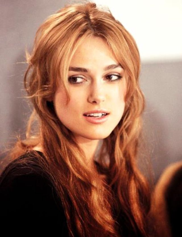 Keira Knightley - She acts in some of my absolute favorite movies. She is great at telling a story.