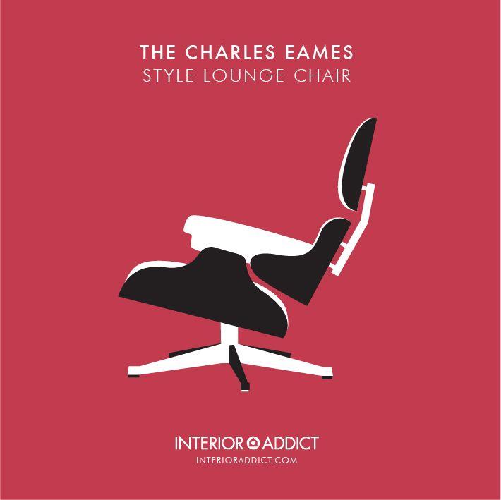 Eames Style Lounge Chair#Eames #CharlesEames#RayEames #Designer#LoungeChair #EamesChair
