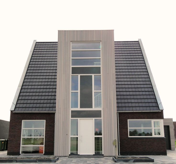 17 best images about idee n voor huizen on pinterest ramen tes and house - Foto modern huis ...