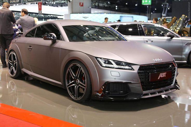 2015 Audi TT Coupe Gunmetal от ABT – скорость и мощь в элегантной оправе #ABT #Audi #Audi_TT #sportcar #Geneva_2015 #Serial