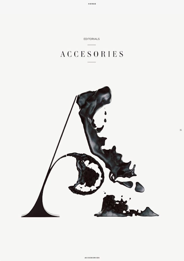 "Travel, luxury and fashion magazine Horse asked art director Eren Saracevic to make different covers for the sections ""Stories"", ""Accessorie..."