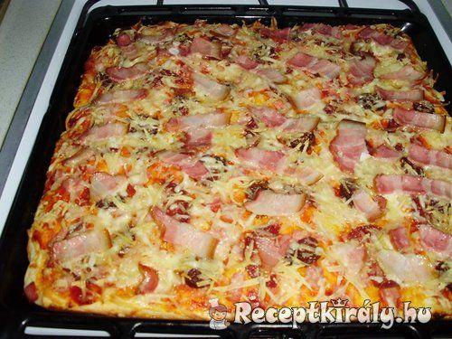Erdélyi pizza recept képpel. Elkészítés és hozzávalók leírása, 1óra 30 perc, 8 főre, Egyszerű