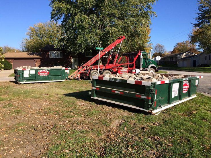 Dumpster Rental Davenport Iowa (563) 3322555 Ideas For