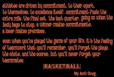 I love girls who play basketball <3