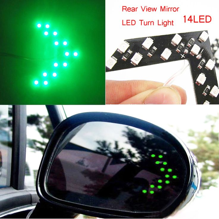 Free shipping Car styling 14 SMD LED Arrow Panel For Car Rear View Mirror Indicator Turn Signal Light Car led Parking       US $0.99  #shopaholic #dailydeals