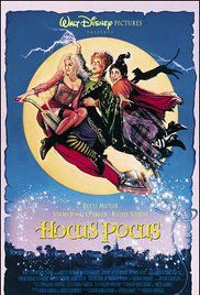 Hocus Pocus Sunday Only! October 16 Starring Bette Midler, Sarah Jessica Parker & Kathy Najimy