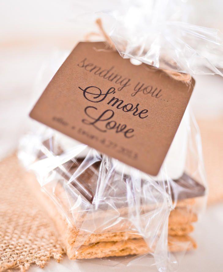 S'more Wedding Favors #sweet #wedding #desserts