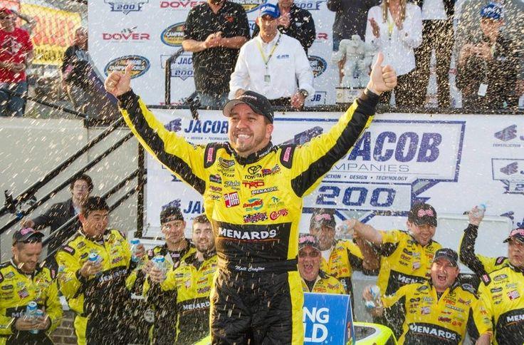 Congratulations to Matt Crafton, winner of yesterday's Jacob Companies 200 at Dover. #NASCAR  http://beyondtheflag.com/2016/05/14/trucks-matt-crafton-finally-wins-dover/