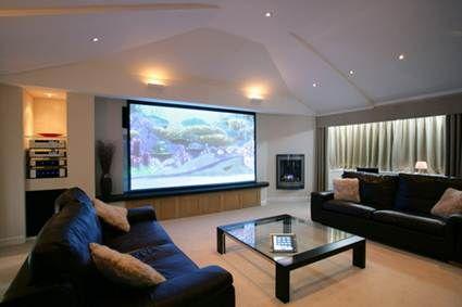 Salón estilo high-tech