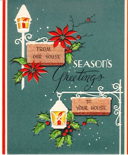 Our Home From Scratch: 1262 Best Vintage Christmas Cards Images On Pinterest