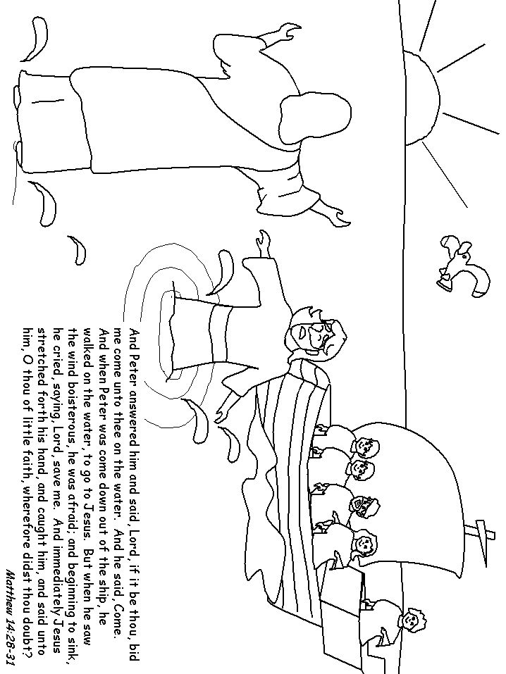 bible coloring pages and crafts - photo#26