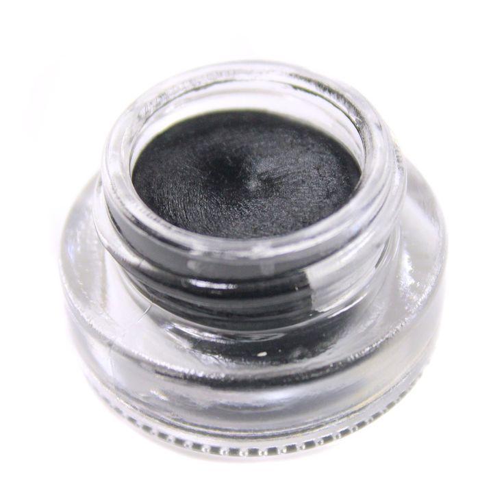 Makeup Geek Gel Liner - in Immortal ❤️❤️❤️❤️ the blackest gel liner ever goes so beautiful it's just amazing