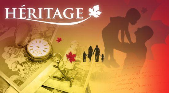Héritage - Canadian History website