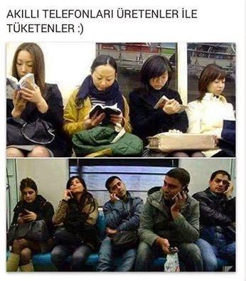akıllı telefonlar üretenler ve tüketenler