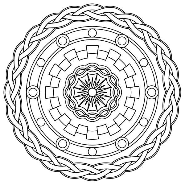4853 best Mandala images on Pinterest Coloring pages, Coloring - fresh mandala coloring pages on pinterest