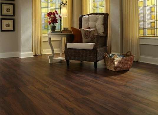 Best Laminate Flooring For Dogs amercan walnut Family Friendly Floors 5 Top Options For Busy Households