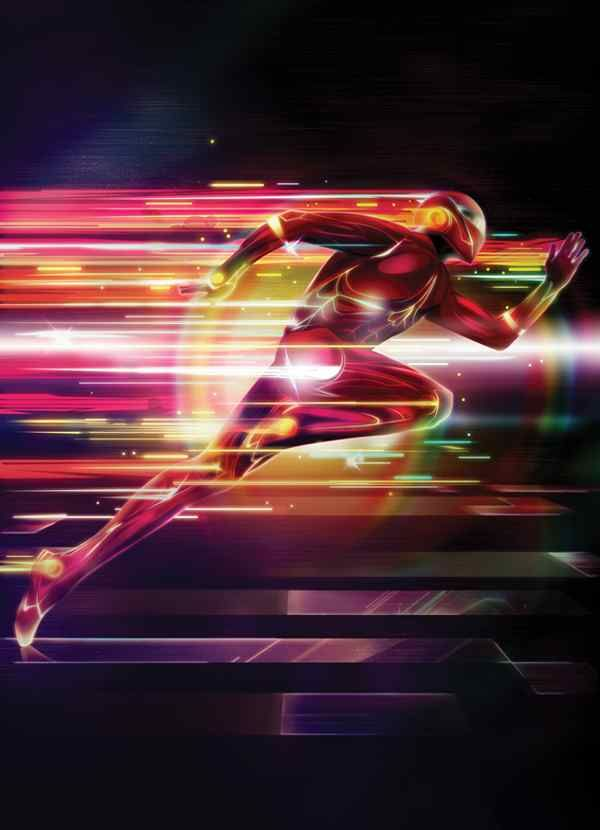 Lightning-Effects - Create A Glowing Superhero Using Photoshop
