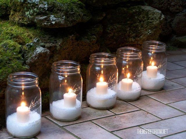19 Szuper karácsonyi dekoráció befőttes üvegből ~ Készítsd Otthon