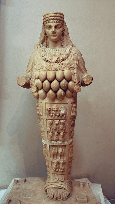 Turkey / Artemis at Ephesus...the great mother archetype 3000 BCE