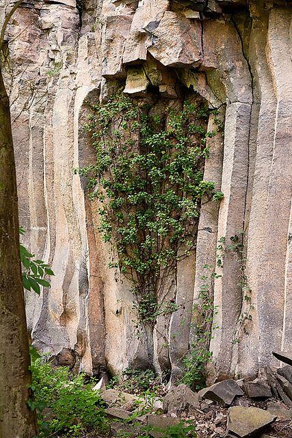 Colades basàltiques de Sant Joan les Fonts, La Garrotxa, Catalunya