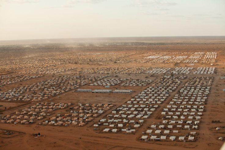 The Dadaab Refugee Camp in Kenya circa 2011